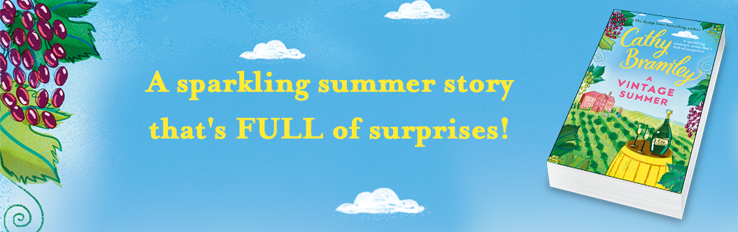 A Vintage Summer by Cathy Bramley out 21 March 2019