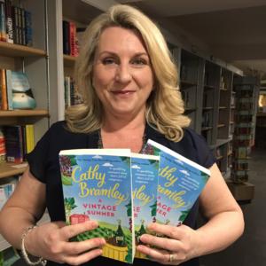 Cathy Bramley A Vintage Summer New bookshop