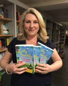 Cathy Bramley A Vintage Summer New bookshop